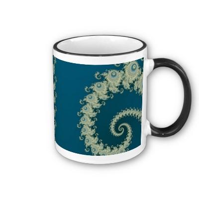 Seaside Spirole Mug