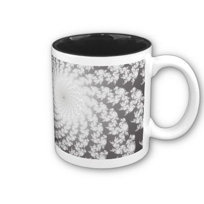 Silver Whirlpool Mug