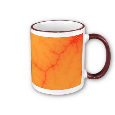 Tangerine Capillary Mug