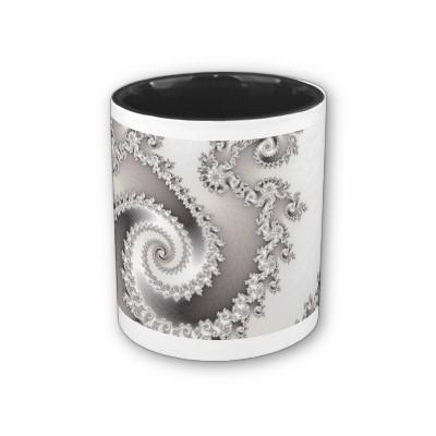 Silver Triple Twirl Mug