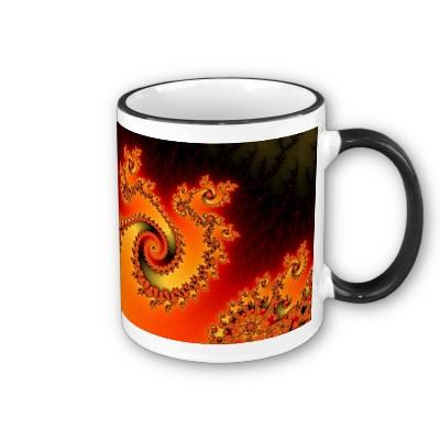 Flame Triple Twirl Mug