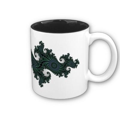 Emerald Seahorse Julia Mug