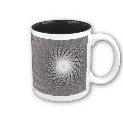 Silver Whirlpool 2 Mug