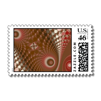 Chocolate Factory Postage Stamp