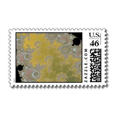Dancing Heather Postage Stamp