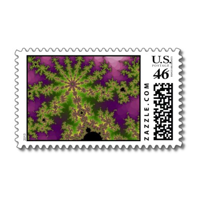 Mulberry Bush Postage Stamp