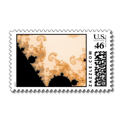 Endless Gold Detail Postage Stamp