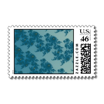 Marching Seahorses 1 Postage Stamp