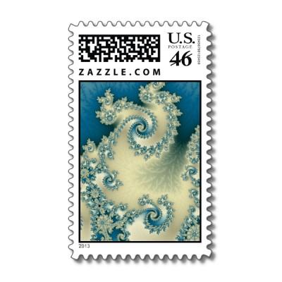 Seascape 1 Postage Stamp