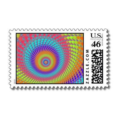 Highlighter Pen Roundalls Postage Stamp