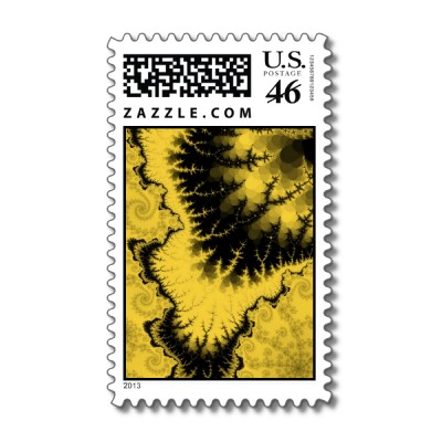 Musty Feathered Star Postage Stamp