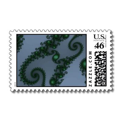In the Deep Dark Wood Postage Stamp