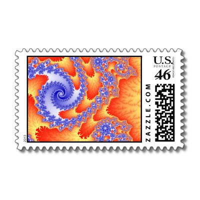 Tongues of Fire Postage Stamp