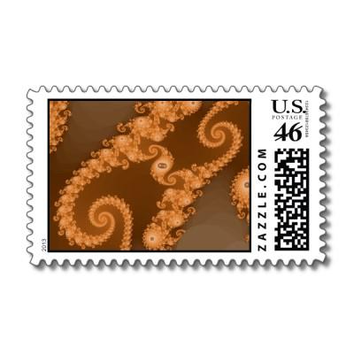 Double Espresso Postage Stamp