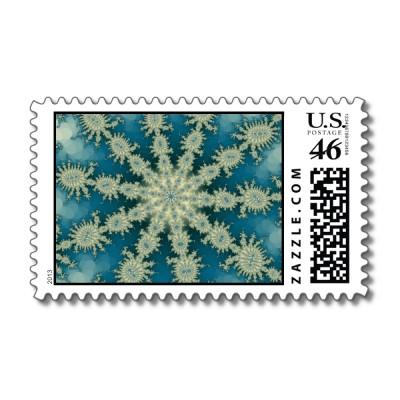Starfish Decasteer Postage Stamp