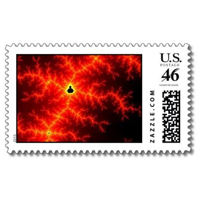 Lava Postage Stamp