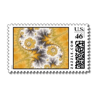 Silver Nebula Postage Stamp