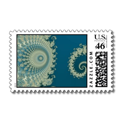 Seaside Spirole Postage Stamp