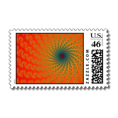 Circus Whirlpool 2 Postage Stamp