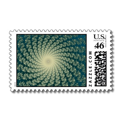 Seaside Whirlpool 3 Postage Stamp