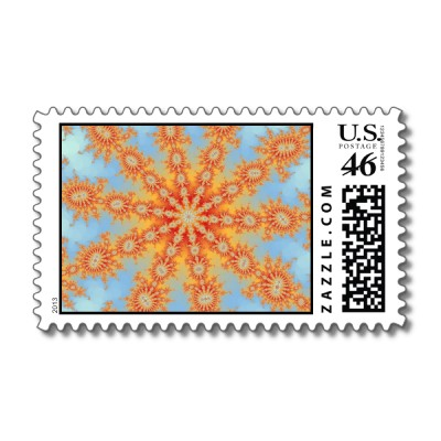 Summers Day Decasteer Postage Stamp