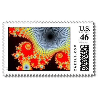Infinity Postage Stamp