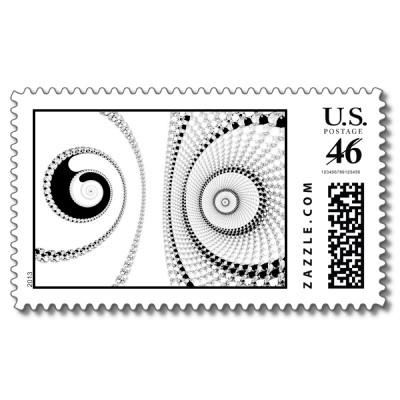 Spirole Postage Stamp