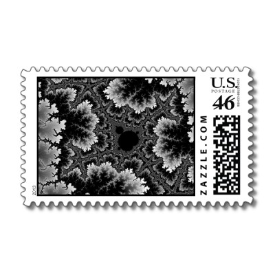 White Coral Postage Stamp