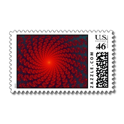 Circus Whirlpool 3 Postage Stamp