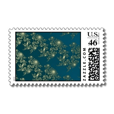 Marching Seahorses 2 Postage Stamp