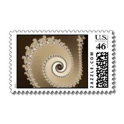 Cafe Latte Postage Stamp