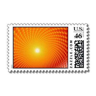 Sunrise Postage Stamp