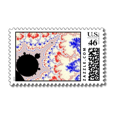 To The Stars Postage Stamp