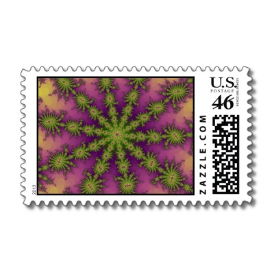 Mulberry Decasteer Postage Stamp