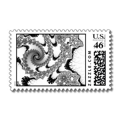 Black Tongues Postage Stamp