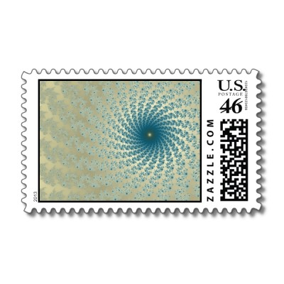 More Sandy Whirlpool 2 Postage Stamp