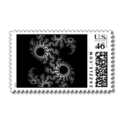 Black White Julia 324048 Postage Stamp