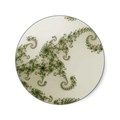 Olive Smoke Sticker
