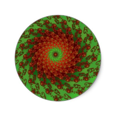Poinsettia Sticker