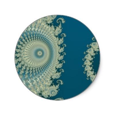 Seaside Spirole Sticker