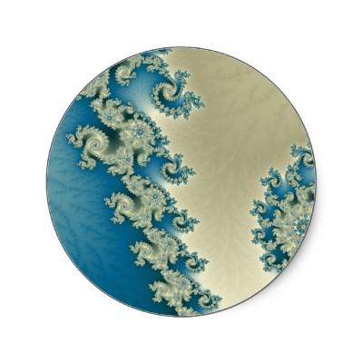 Seascape 4 Sticker