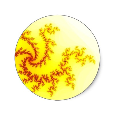 Yellow Dragon Sticker