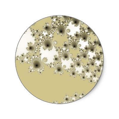 Gold Urchins Sticker