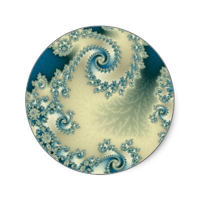 Seascape 1 Sticker