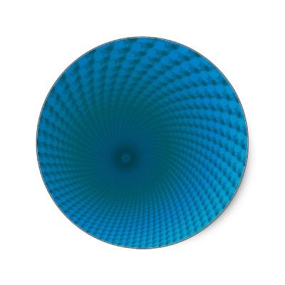Bottom of the Deep Blue Sea Sticker