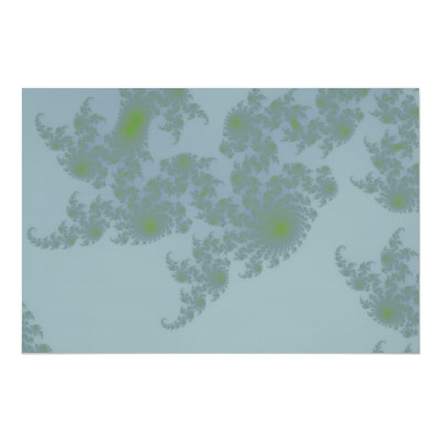 Green Ferns Poster