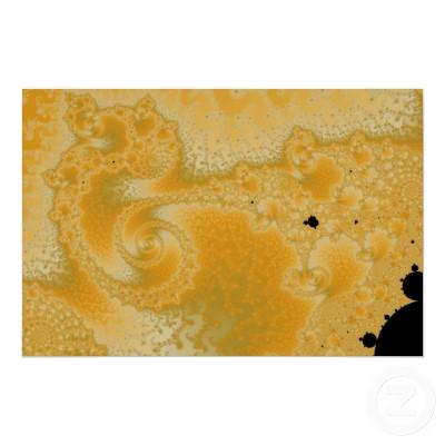 Gold Melt Poster