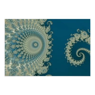 Seaside Spirole Poster