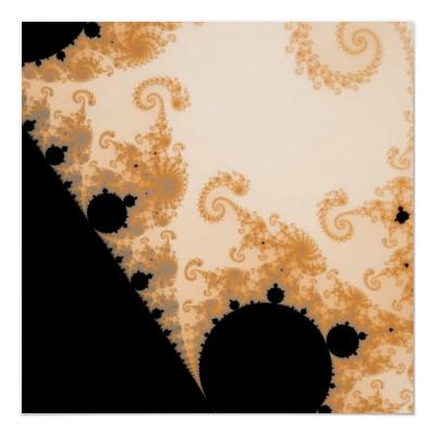 Endless Gold Detail Poster