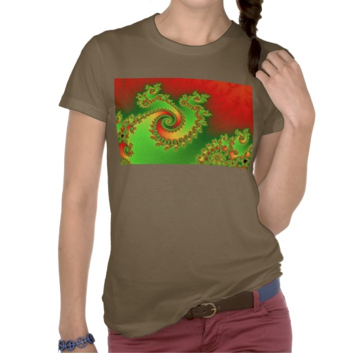 Christmas Triple Twirl T-Shirt